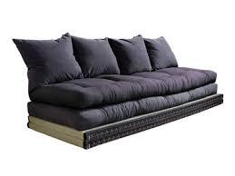 canapé futon des futons confortables pour votre chambre ou votre salon