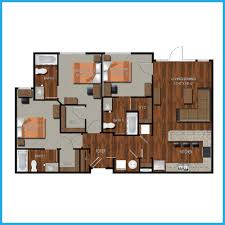 Floor Plans For Apartments 3 Bedroom by College Station Three Bedroom Apartments College Station
