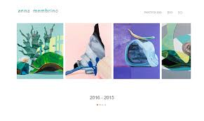 Art Portfolio Design Professional Websites For Artists And Painters Artist Website