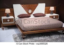 chambre a coucher moderne en bois moderne chambre à coucher brun moderne les bois image de