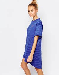 factory direct women puma oversized t shirt dress with small logo