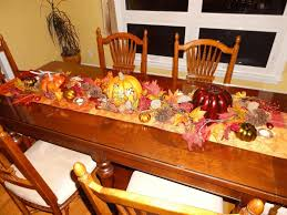 fall table arrangements autumn centerpiece ideas dining chair seat covers grey and white