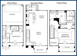 Condominium Plans Exellent 3 Story House Floor Plans 2 Australian Inside Decorating