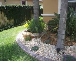 exterior design tropical landscape palm tree garden with two tone