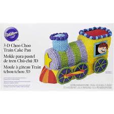 choo choo train cake pan set wilton