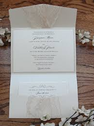 wedding invitations lace lace wedding invitations