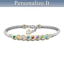 mothers birthstone bracelets family is forever personalized mothers birthstone bracelet