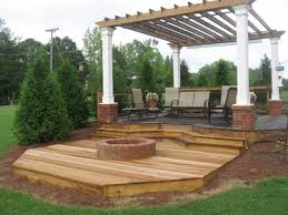 Deck Firepit Atlanta Outdoor Living Personal Touch Lawn Care