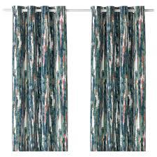 graslilja curtains pair multicolor curtain sheer dollar general
