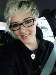 big bang blonde short hair cut pictures blonde short hair pixie cut love it with glasses kiss make