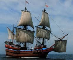 mayflower pilgrims ship posted in international shipping and