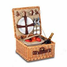 picnic gift basket picnic plus by spectrum baxter 2 person picnic basket with