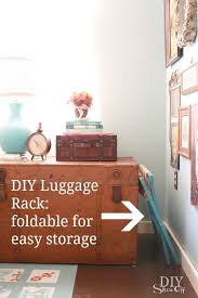 Diy Guest Bedroom Ideas Getting Guest Ready With A Diy Luggage Rack Hometalk