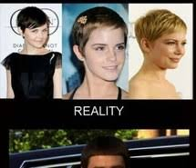 Short Hair Meme - omg image 2062943 by lady d on favim com