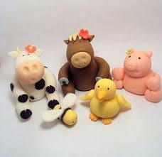 farm cake toppers farm themed cake toppers baby animals cakes for ones