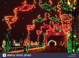 va beach christmas lights christmas lights along boardwalk virginia beach virginia usa