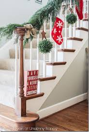 Banister Decorations For Christmas 054428 Holiday Decorating Ideas For Banisters Decoration Ideas
