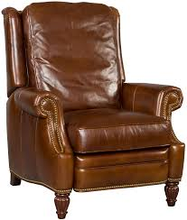 traditional high leg recliner with rolled arms by hooker furniture