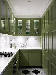 Kitchens With Green Cabinets by Painted Kitchen Cabinet Ideas Freshome
