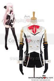 vocaloid hatsune miku project diva f 2nd luka uniform cosplay