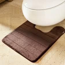 Memory Foam Toilet Rug Microdry Contour Mat Palmerhaus