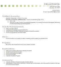 Sample College Student Resume No Work Experience by Examples Of Resumes For College Students With No Experience