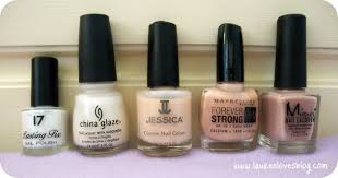 my nail varnish collection whites and lauren loves blog