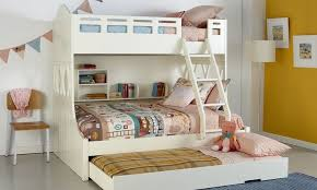 Stylish Double Bunk Bed  Metal Double Bunk Bed  Modern Bunk Beds - Single double bunk beds