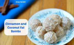 coconut and cinnamon keto fat bombs low carb paleo dairy free