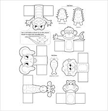 Printable Knife Templates 11 Finger Puppet Templates U2013 Free Pdf Documents Download Free