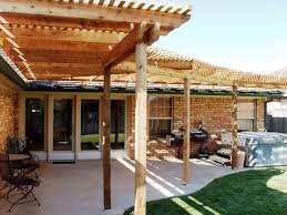 Pictures Of Roofs Over Decks by Ideas Deck Furniture Sweet Dark Wood Pergola Roof Gray Paver Also