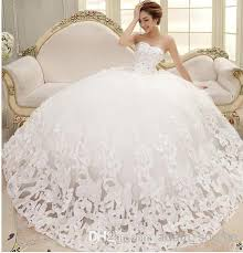 wedding dresses for brides wedding dresses beatiful rhinestone bridal big skirt