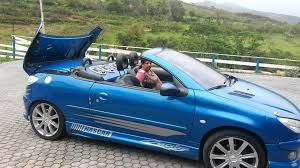 peugeot 206 convertible peugeot 206 conversível 1 6 youtube