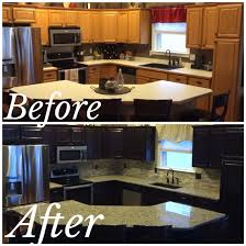 how to sand and stain kitchen cabinets java gel stain kitchen makeover lightly sand paint on 2