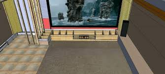 simple home theater design concepts home theater front stage design concept framing simple kitchen detail