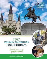 2017 awhonn convention final program by association of women u0027s