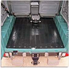heavy duty rubber cargo deck mat