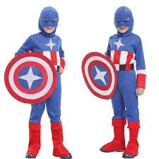 Hinata Halloween Costume Children U0027s Halloween Costume Cosplay Clothes Avengers Captain
