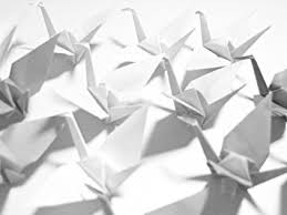 japanese wedding backdrop japanese origami crane garland wedding photography