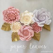 25 unique paper flowers ideas on paper flowers diy
