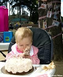 birthday smash cake birthday rosette smash cake my san francisco kitchen