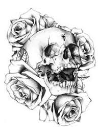 sugar skull with flowers tattoo recherche google skull