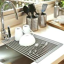 over the sink dish drying rack over sink dish rack over sink dish drainer sink dish rack rubbermaid