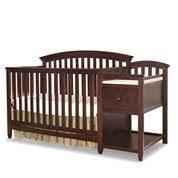 crib with changing table burlington convertible cribs baby depot free shipping