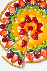 fruit fresh fruit pizza this is one of my favorite summer desserts the