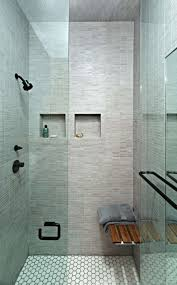 12 design ideas for including built in shelving in your shower