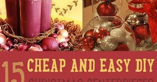Easy Christmas Centerpiece - 19 simple and elegant diy christmas centerpieces style motivation
