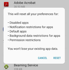 android preferences how to reset app preferences android blogtechtips