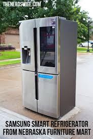 samsung smart refrigerator with family hub from nebraska furniture
