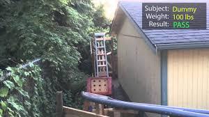 backyard roller coaster human trials youtube